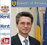 Vizita la universitatea din Kent a Ambasadorului Romaniei