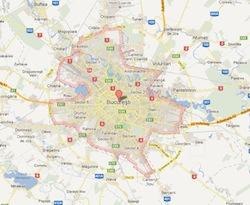 Harta Sector 4 Bucuresti Harta S4 Bucuresti Romaniaexplorer